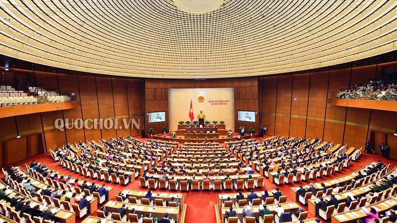 Quốc hội đã bắt đầu công việc lấy phiếu tín nhiệm từ chiều 24/10.
