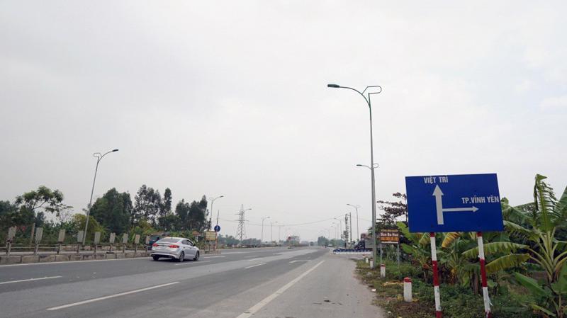 Tuyến tránh Thành phố Vĩnh Yên, Vĩnh Phúc.