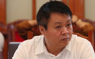 Ông Phạm Sỹ Quý tại buổi công bố kết luận thanh tra về khối tài sản của mình, chiều 23/10.
