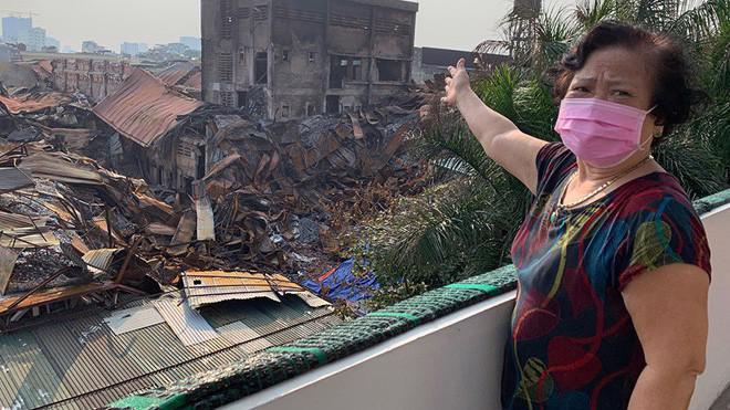 Thiệt hại từ đám cháy lên tới hàng trăm tỷ đồng.