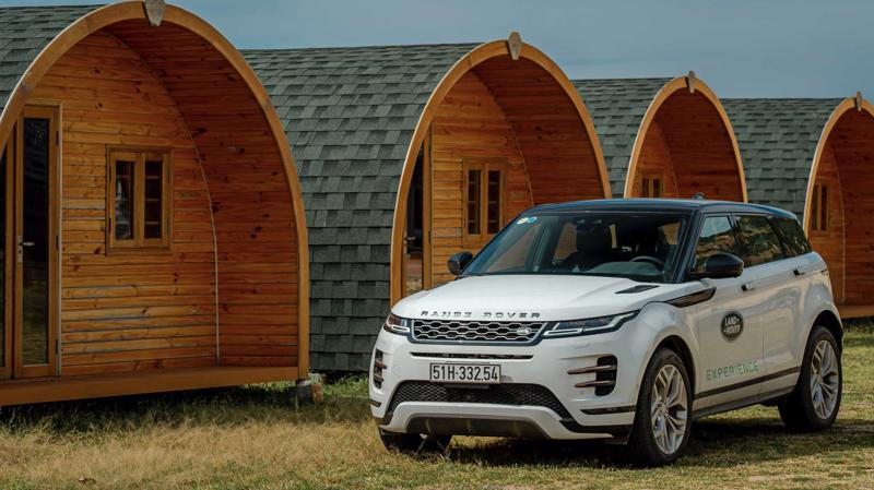 Mẫu xe Range Rover Evoque.