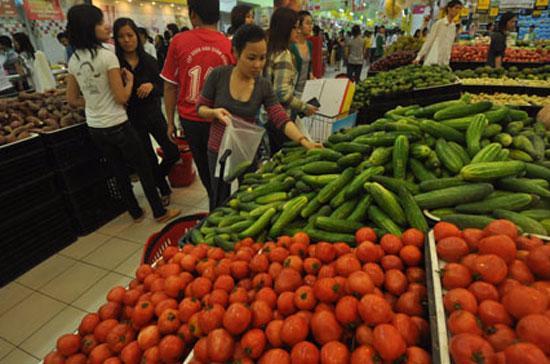 Giá rau củ quả được dự báo sẽ giảm nhẹ
