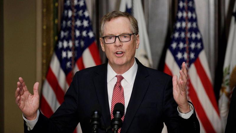 Trưởng Đại diện Thương mại Hoa Kỳ (USTR) Robert Lighthizer - Ảnh: Reuters.