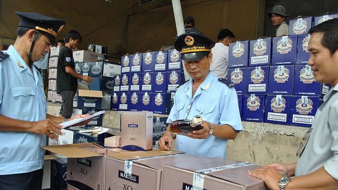 Rượu và bia sản xuất từ malt nằm trong danh mục hàng hóa nhập khẩu phải làm thủ tục hải quan.