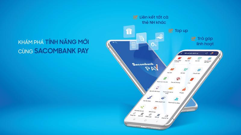 Từ ngày 31/5/2019, khi thực hiện liên kết thẻ nội địa của ngân hàng khác, mỗi khách hàng sẽ được tặng ngay 50.000 đồng vào tài khoản Sacombank Pay.