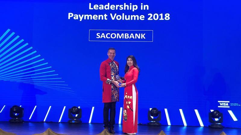 Sacombank đã vinh dự trở thành Ngân hàng duy nhất tại Việt Nam được xướng tên trong 5 danh hiệu danh giá nhất trong hoạt động thẻ.