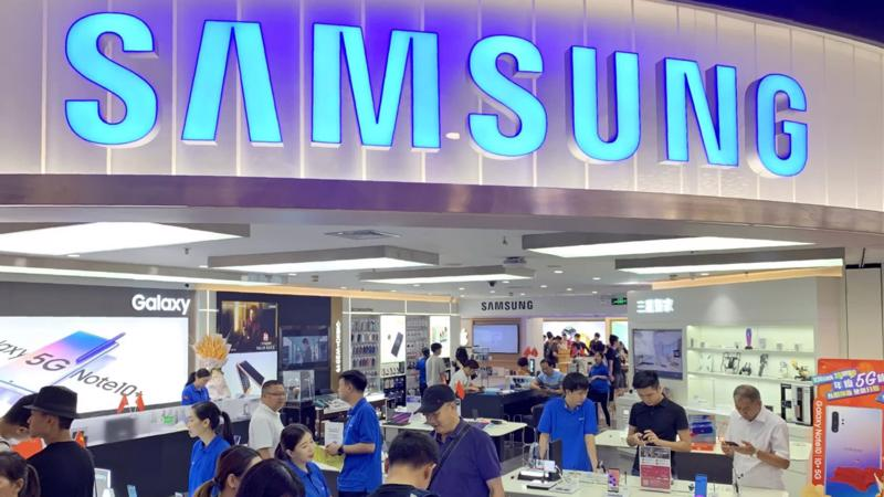 Một cửa hàng Samsung tại Quảng Châu, Trung Quốc - Ảnh: Nikkei.