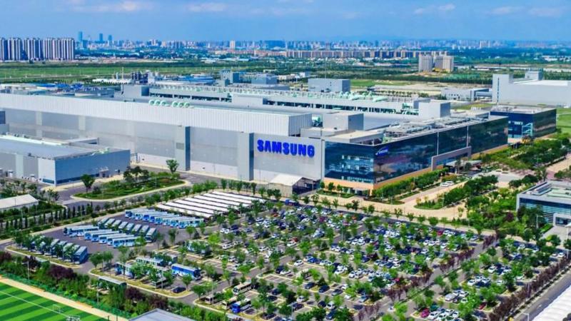 Nhà máy này nằm ở thành phố Tây An, thuộc tỉnh Thiểm Tây, Trung Quốc, là cơ sở sản xuất chíp nhớ ở nước ngoài duy nhất của Samsung - Ảnh: Nikkei.