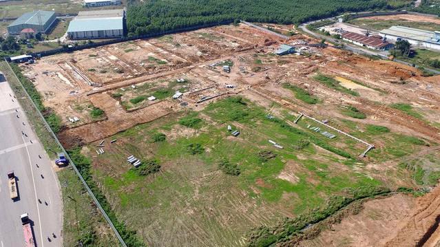 Khu vực thu hồi đất để làm sân bay nằm gần trọn trong xã Suối Trầu - Ảnh: DT.