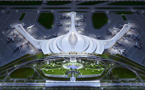 Cảng hàng không quốc tế Long Thành có diện tích đất thu hồi 5.000 ha,  trong đó diện tích đất xây dựng kết cấu hạ tầng cảng hàng không là 2.750  ha.