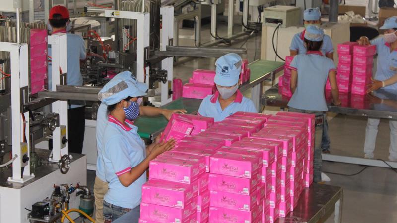 Ngoài mặt hàng chủ yếu là khăn giấy đang được bán thông qua thương hiệu Bless You, Giấy Sài Gòn cũng sản xuất giấy vệ sinh và bìa carton.