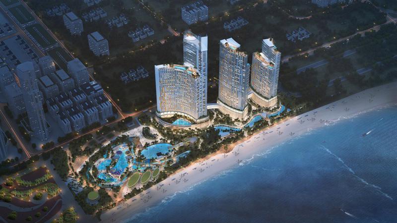 Phối cảnh dự án SunBay Park Hotel & Resort Phan Rang.