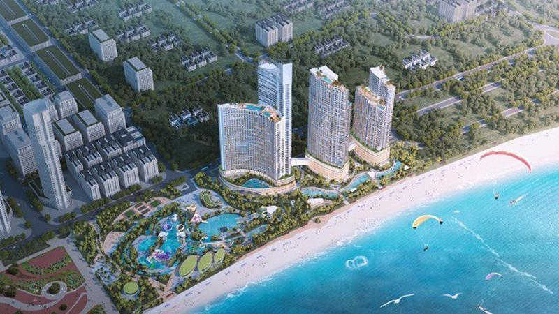 Dự tính năm 2021, dự án này sẽ chính thức hoạt động, mang tới Ninh Thuận dòng khách quốc tế lớn của Tập đoàn Crystal Bay.