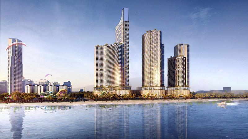 SunBay Park Hotel & Resort Phan Rang là dự án đầu tiên được xây dựng, nằm tại trung tâm thành phố Phan Rang - Tháp Chàm, ngay bên bờ biển Bình Sơn.