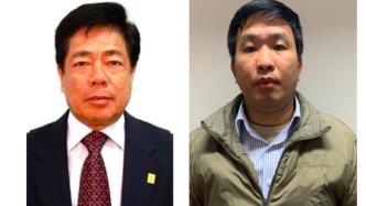 Ông Trương Văn Tuyến và ông Phạm Thanh Sơn.