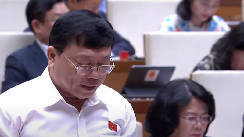 Ông Trần Văn Cường - Đại biểu Quốc hội tỉnh Đồng Tháp.