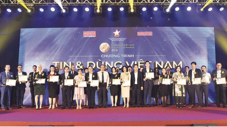 Lễ vinh danh các sản phẩm và dịch vụ Tin Dùng năm 2019