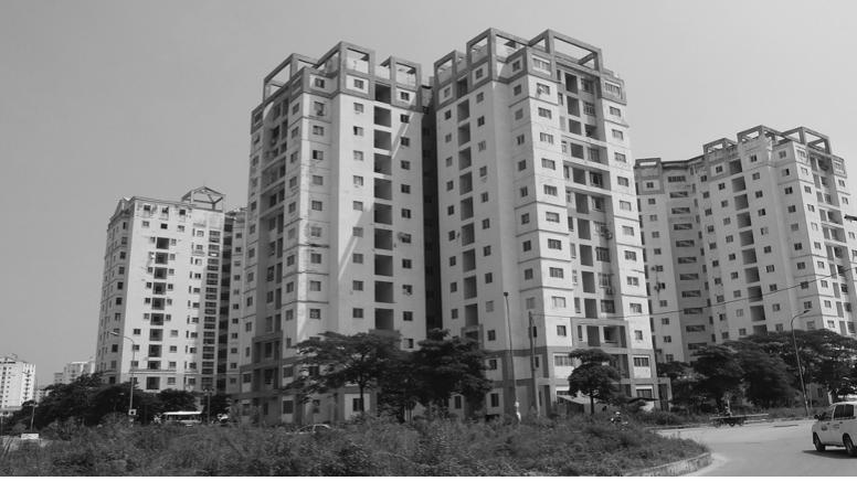 Tại các dự án chung cư chào bán, chỉ có 44% người mua nhà là phục vụ nhu cầu ở thật
