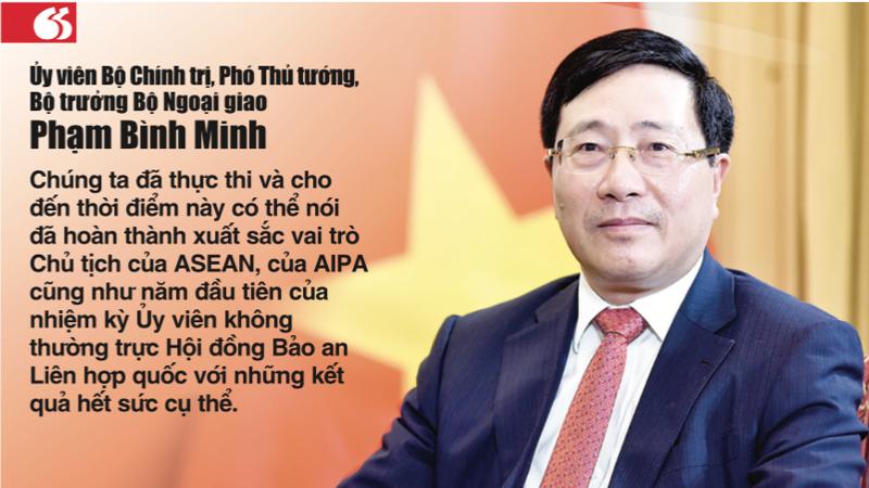 Ông Phạm Bình Minh, Ủy viên Bộ Chính trị, Phó Thủ tướng - Bộ trưởng Bộ Ngoại giao