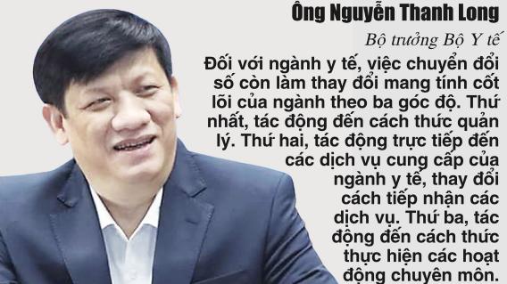 Ông Nguyễn Thanh Long, Bộ trưởng Bộ Y tế