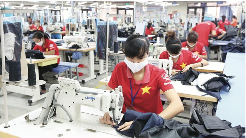 Các doanh nghiệp dệt may Việt Nam đã có đơn hàng hết tháng 4/2021
