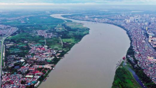 Hà Nội dự kiến phê duyệt Quy hoạch phân khu đô thị sông Hồng vào tháng 6 tới.
