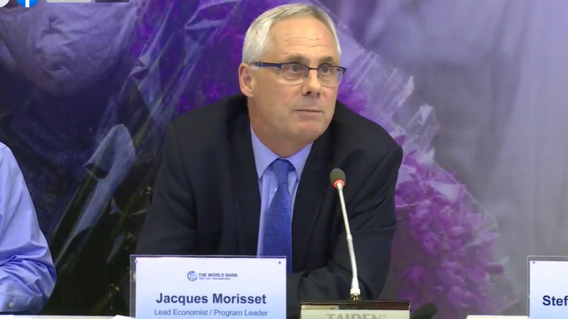 Jacques Morisset, chuyên gia kinh tế trưởng Ngân hàng Thế giới tại Việt Nam