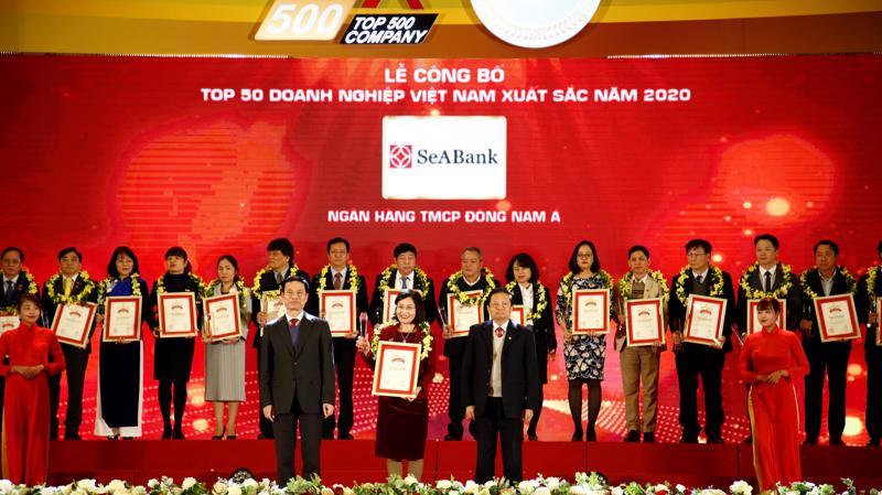 Đây là sự ghi nhận xứng đáng cho những nỗ lực của SeABank trong việc hoạt động hiệu quả, có sự tăng trưởng liên tục qua các năm.