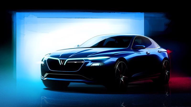 Kỳ triển lãm năm nay, sự xuất hiện của hai mẫu xe hơi đầu tiên của Việt Nam mang thương hiệu VinFast gây nhiều chú ý.