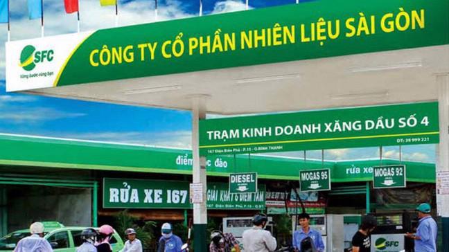 Mã SFC của Công ty Cổ phần Nhiên liệu Sàn Gòn thường xuyên mất thanh khoản.