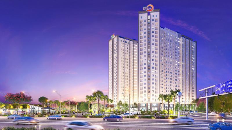 Phối cảnh khu căn hộ được đầu tư theo tiêu chuẩn thông minh 4.0 của LDG Group.