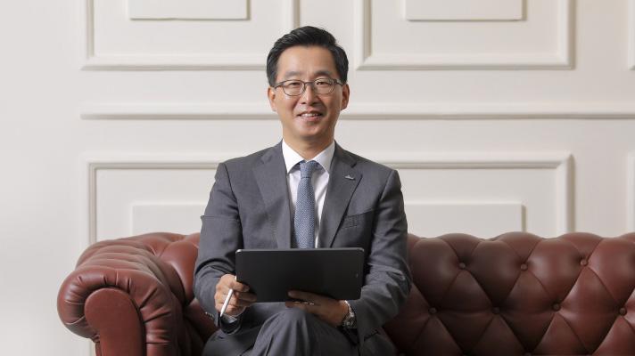 Ông Lee Taekyung - Tổng giám đốc Shinhan Bank Việt Nam