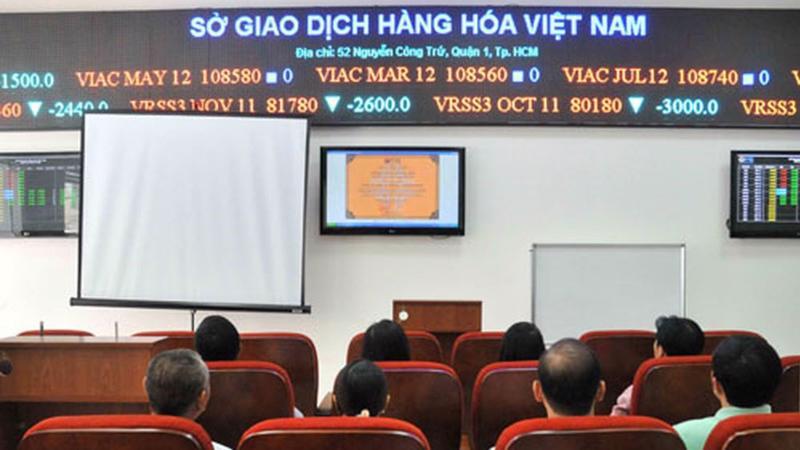 Danh mục hàng hóa dự kiến được niêm yết trên sàn của Sở giao dịch hàng hóa Việt Nam sẽ gồm 40 mặt hàng chủ lực.