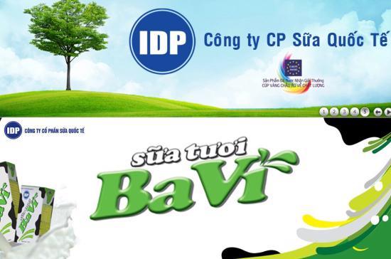 Thương hiệu Ba Vì đã được IDP đăng ký chính thức bởi các cấp có thẩm quyền