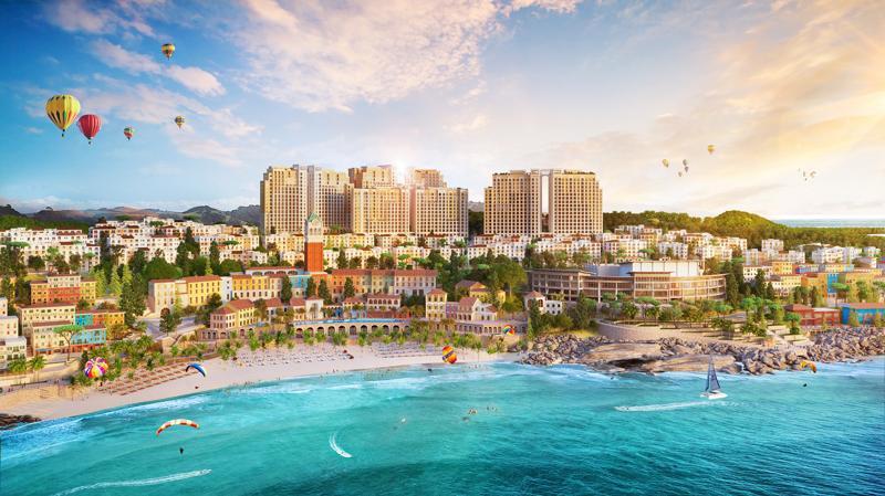 Sun Grand City Hillside Residence là tổ hợp căn hộ cao tầng sở hữu vị trí đắc địa bên bờ Nam đảo Ngọc.