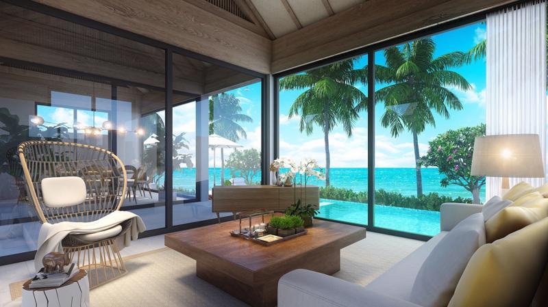 """Một dự án gây nhiều chú ý tại bãi Kem của Phú Quốc thời gian qua là """"ngôi làng biển"""" Sun Premier Village Kem Beach Resort do Sun Group đầu tư."""