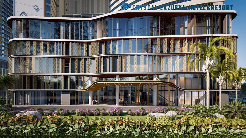 SunBay Park Hotel & Resort do NDA Group thiết kế chi tiết kiến trúc.