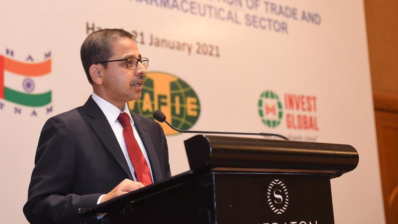 Ông Pranay Verma, Đại sứ Ấn Độ tại Việt Nam