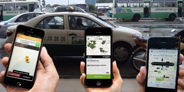 Cuộc chiến căng thẳng giữa các hãng taxi công nghệ và taxi truyền thống. <br>