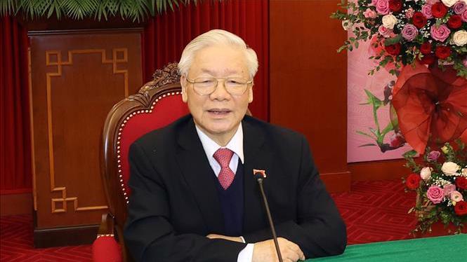 Tổng Bí thư, Chủ tịch nước Nguyễn Phú Trọng - Ảnh: TTXVN