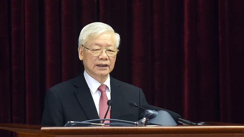 Tổng Bí thư, Chủ tịch nước Nguyễn Phú Trọng - Ảnh: VGP