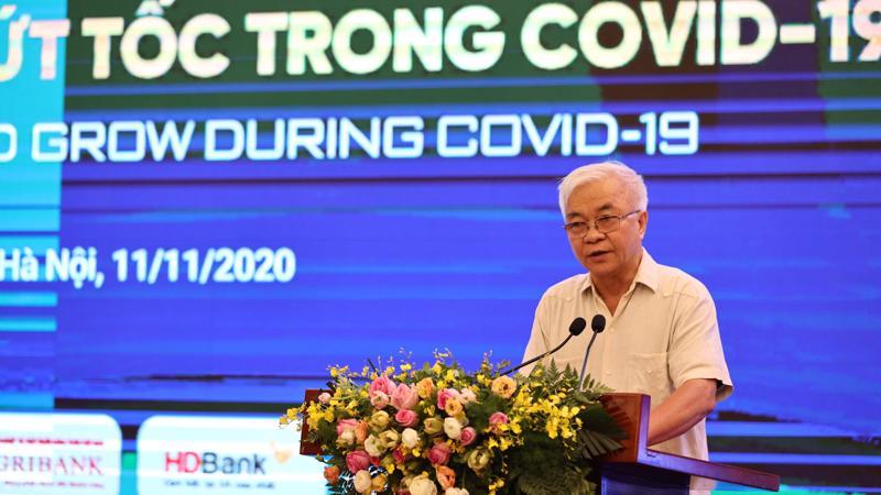 Ông Chử Văn Lâm - Tổng biên tập Tạp chí Kinh tế Việt Nam - Ảnh: Chu Xuân Khoa.