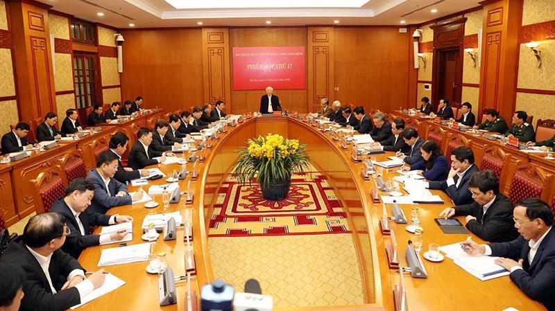 Tổng bí thư, Chủ tịch nước chủ trì phiên họp