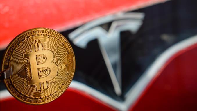 Tesla lãi hơn 1 tỷ USD nhờ khoản đầu tư vào Bitcoin - Ảnh: Getty Images