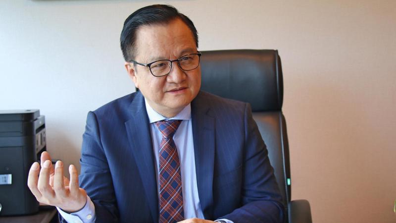 Tổng giám đốc MIKGroup Nguyễn Vĩnh Trân.