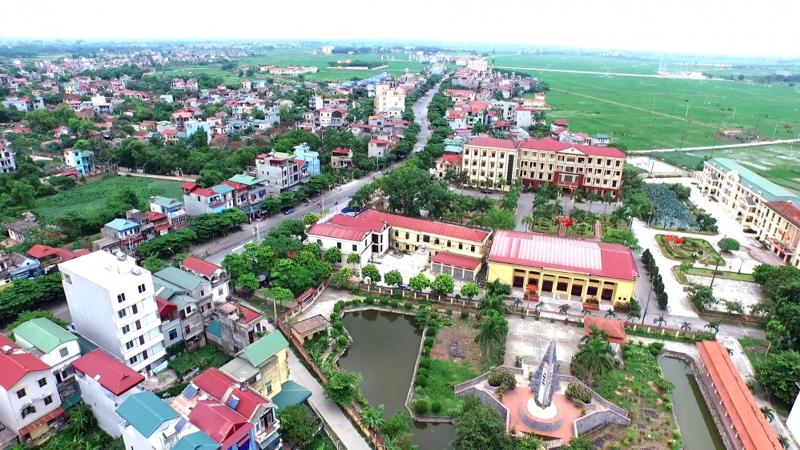 """Huyện Thanh Oai cũng muốn """"lên quận"""" vào năm 2028."""