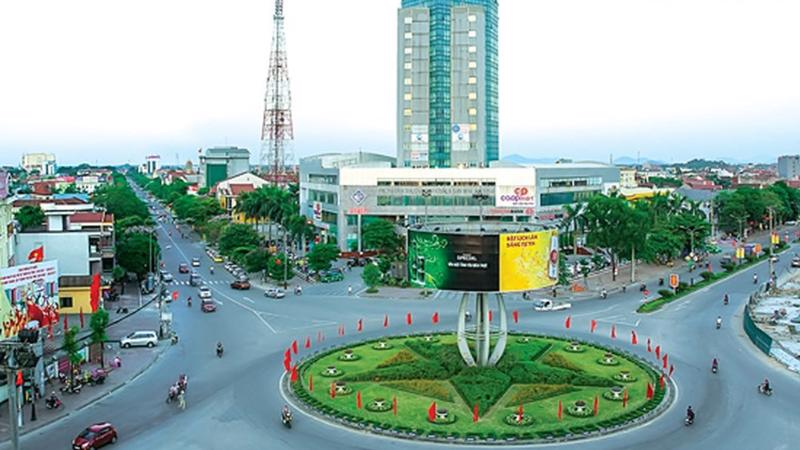 Một góc thành phố Hà Tĩnh.