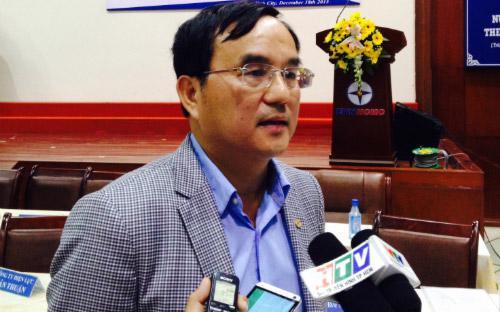 Chủ tịch Tập đoàn Điện lực Việt Nam, ông Dương Quang Thành.