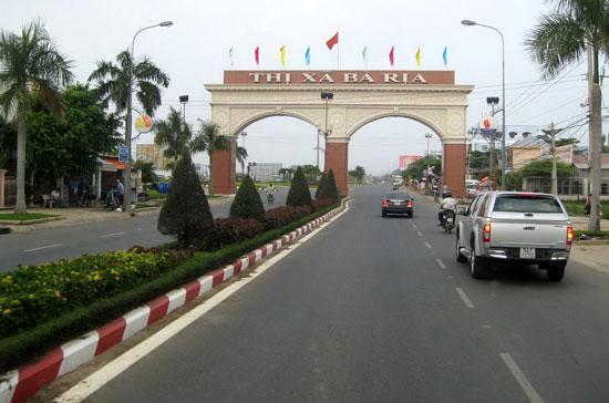 Thành phố Bà Rịa có 9.146,5 ha diện tích tự nhiên và 122.424 nhân khẩu; 11 đơn vị hành chính cấp xã.