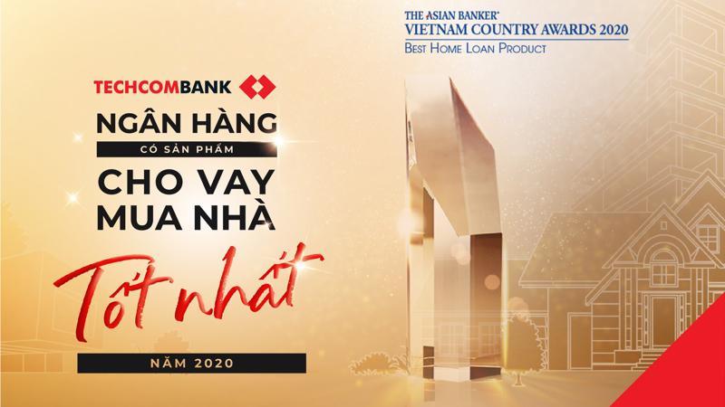 Theo The Asian Banker, các giải pháp vay mua nhà của Techcombank đã đáp ứng đúng nhu cầu của khách hàng, nhờ đó thu hút được nhiều khách hàng mới.